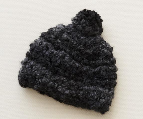 ニット帽(ビーニー)無料編み図。knit hat free pattern | knitting
