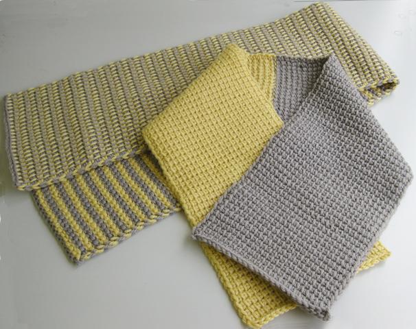 アフガン編み・編み方を動画で覚えてマフラーを編もう