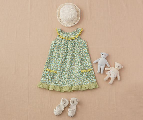 b5c52d9cb017f 無料型紙&レシピ 簡単!かわいい手作りベビー服・子供服の作り方 ...
