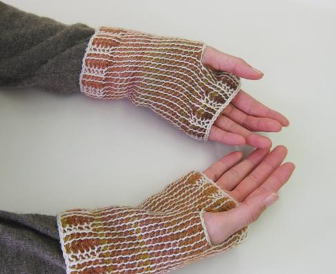 「ダブルフックアフガン針」編み方・編み図・編み方動画