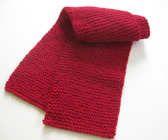 Knit muff