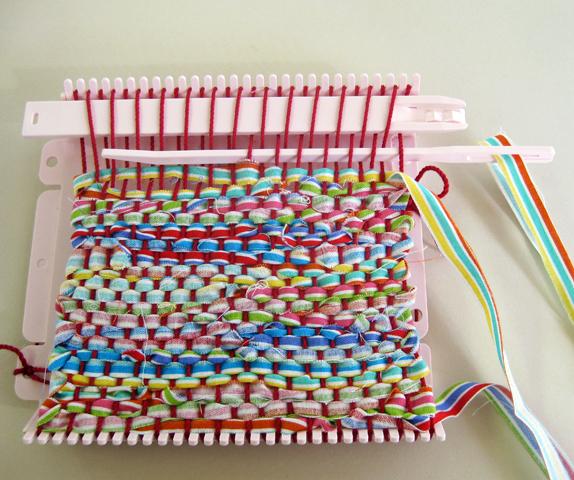 クロバー ミニ織りで織る 裂き織...